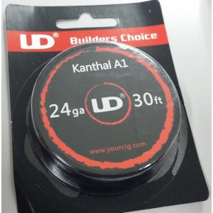 UD Kanthal A1 24g 30ft wire ราคา 130 บาท